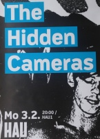 The Hidden Cameras at Hebbel Am Ufer - HAU1 (poster)