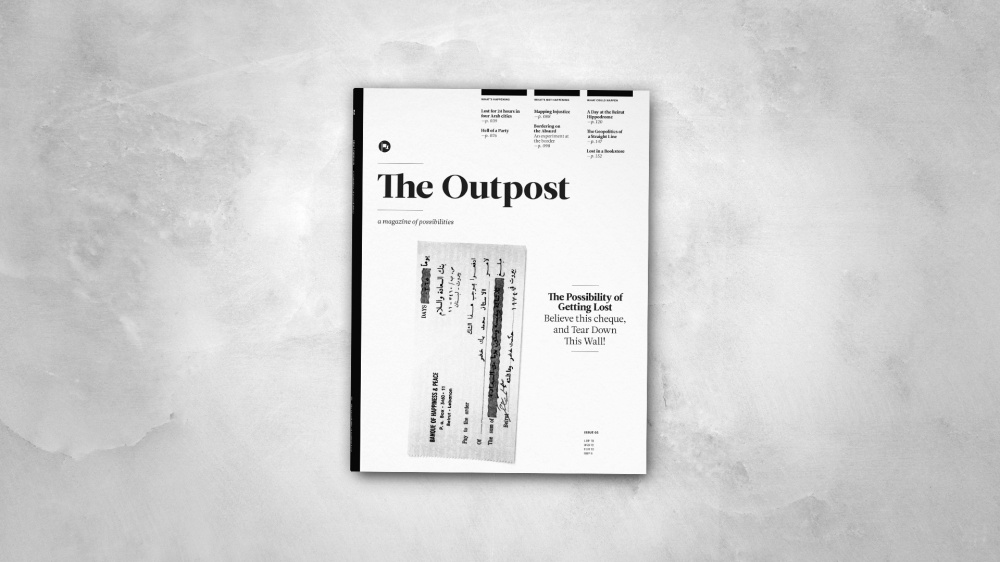 The Outpost Issue 3: The Possibility of Getting Lost