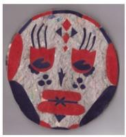 Melissa Luk: Mask notebook(large)