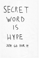 Ronald Philapson: Secret Word is Hype
