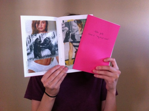 """I Like Girls Zine, Issue 1: """"My First Crush"""" (colour edition)"""