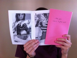 "I Like Girls Zine, Issue 1: ""My First Crush"" (black and white edition)"