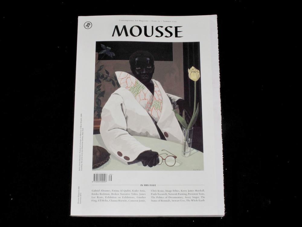 Mousse #39, Summer 2013