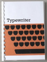 Sara MacKillop: Typewriter Manual