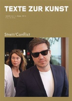 TEXTE ZUR KUNST, ISSUE NR. 87:Conflict