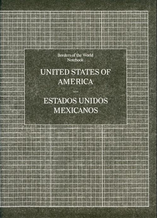 Borders of the World Notebook: United States of America - Estado