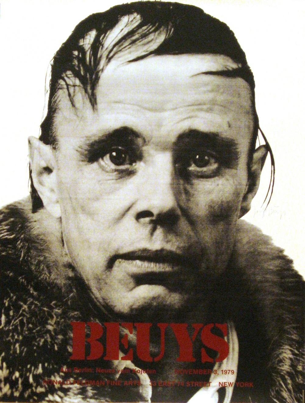 Joseph Beuys - signed poster