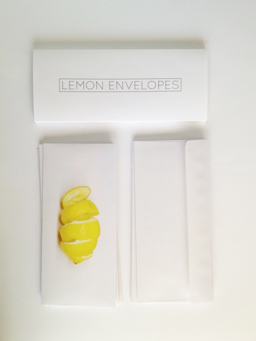 Lemon Envelopes