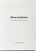Muntadas: About Academia (the transcriptions: an internal document)