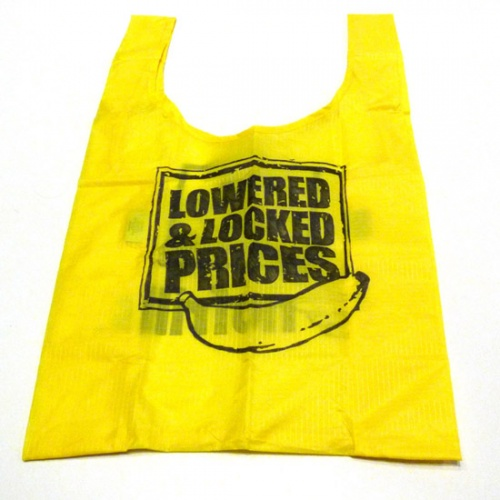 Counterfeit 'No Frills' shopping bag