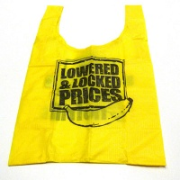 Miyo Takeda: Counterfeit 'No Frills' shopping bag