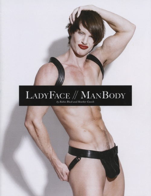 Lady Face / Man Body