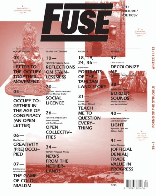 Fuse Magazine #35-1: Forms of the Struggle Winter 11/12