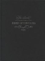 Jon Sasaki: GoodIntentions