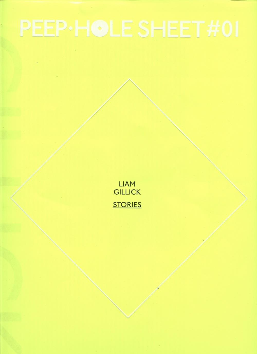 Peep-Hole Sheet #01: Liam Gillick