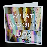 Sandy Plotnikoff: What Would Do? Card