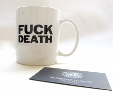 Fuck Death Foundation: Fuck Death Mug (White)
