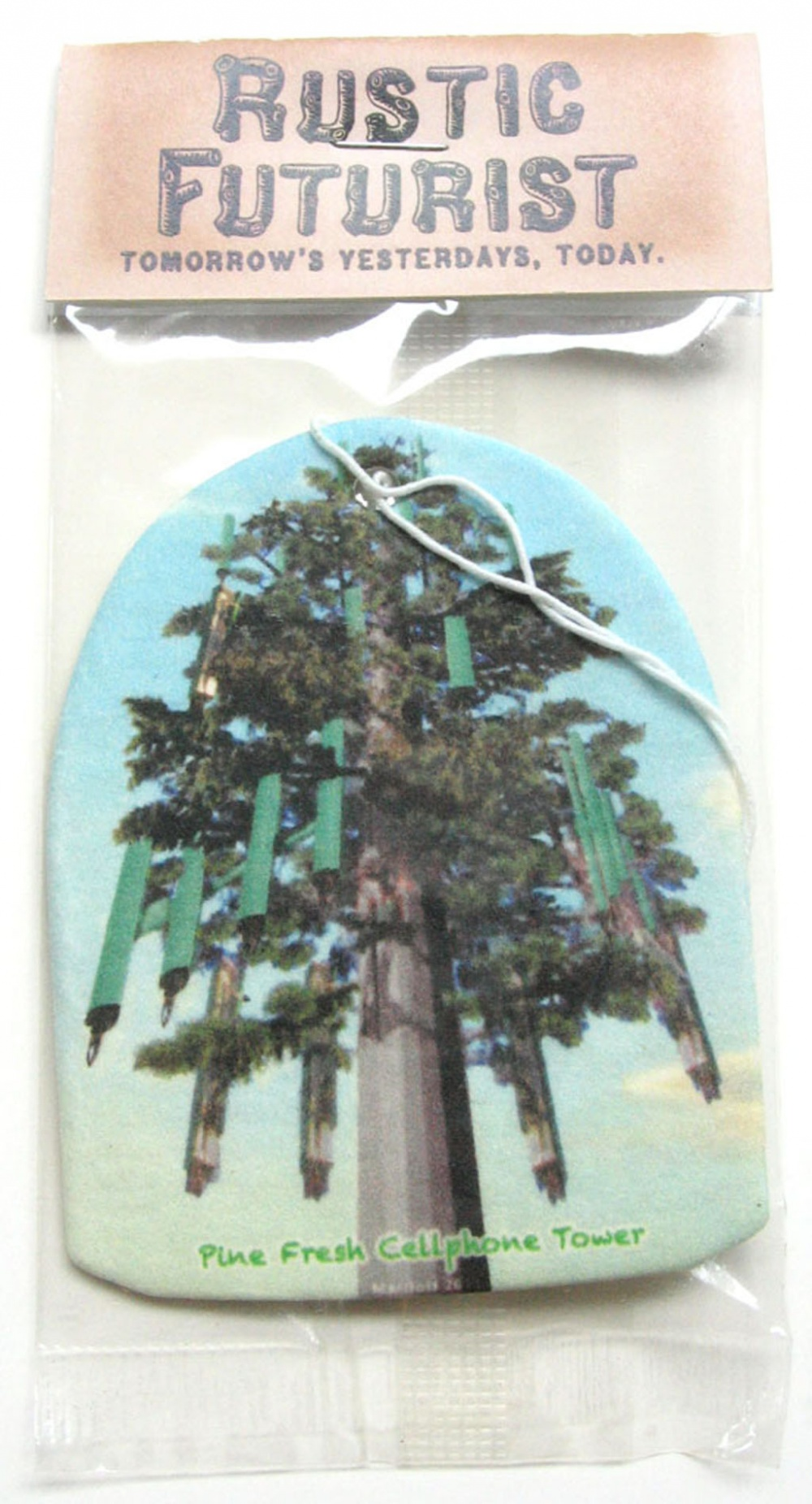 Rustic Futurist: Pine Fresh cellphone tower