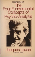 A.R. Penck: Erratum of the Four Fundamental Concepts of Psycho-Analysis