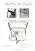 Marc Losier: Foucault Artist PostageStamps
