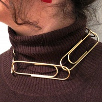 Janis Demkiw: Double U Turn Pentagon Necklace