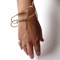 Janis Demkiw: Double U Turn Triangle Bracelet (The Sasaki)