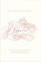 Benny Nemerofsky Ramsay:Libretto