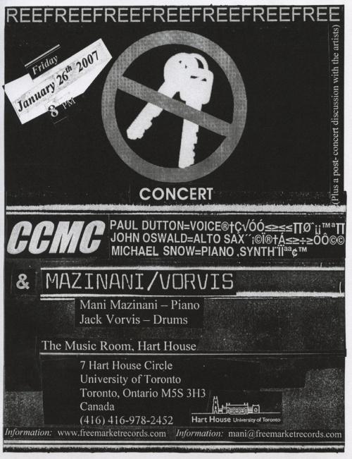 No Keys concert poster