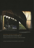 Mani Mazinani and Michael Snow: Solar Breath (Northern Caryatids) / Light Air exhibitionbrochure