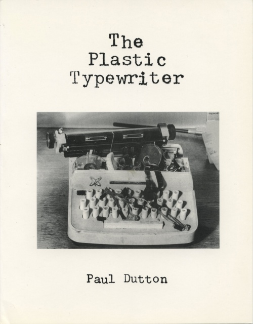 The Plastic Typewriter