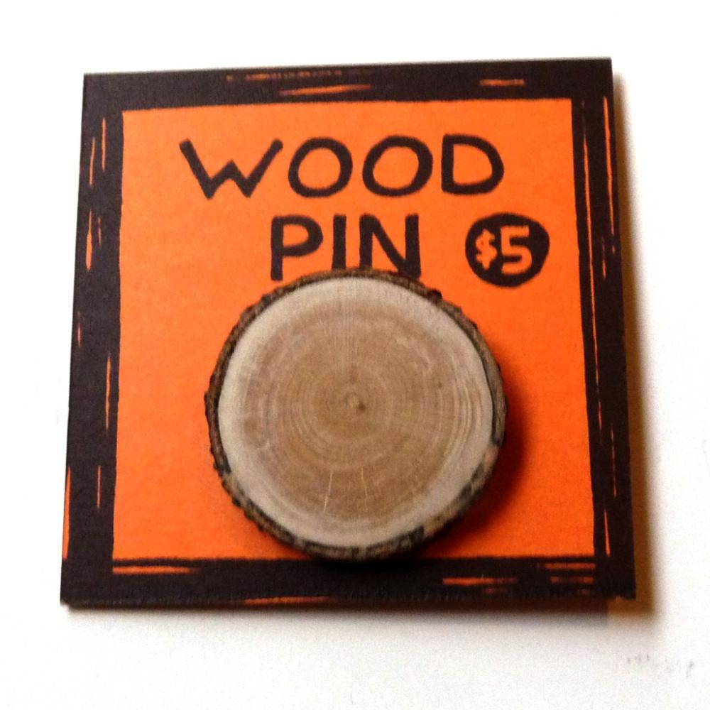 Wood Pin