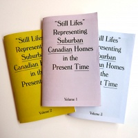 Tracy Ma: Still Lifes Representing Suburban Canadian Homes in the Present Time (3 Volume Set)