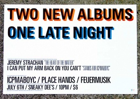 Two New Albums One Late Night