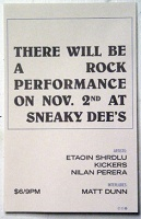 There Will Be a Rock Performance