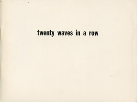 Ian Murray: Twenty Waves In A Row