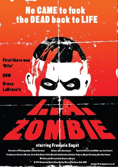 L.A. Zombie (retro poster)