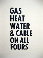 Marina Roy: Gas Heat Water & Cable on All Fours