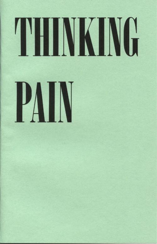 Thinking Pain