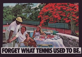 Forget what tennis used to be.
