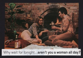 Why wait for tonight… aren't you a woman all day?