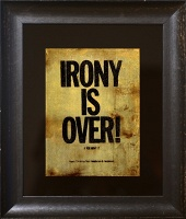 Patrick Lee Henderson: Irony is Over (After Lennon & Ono)