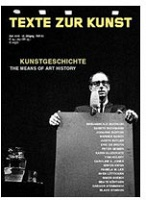 TEXTE ZUR KUNST, ISSUE NR. 62