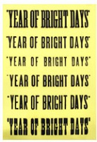 Instant Coffee: Year of Bright Bright Days, 2008