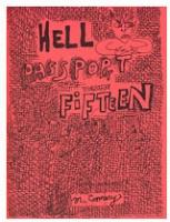 Mark Connery: Hell Passport #15
