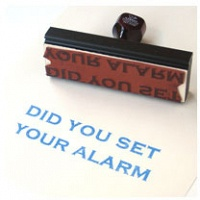 Christine Baigent: DID YOU SET YOUR ALARM (FOR WILL)
