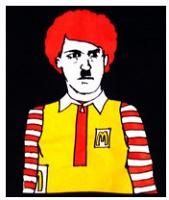 Noah Lyon: McHitler T-shirt