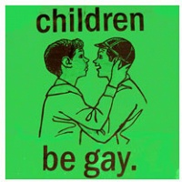 Daryl Vocat: Children be Gay T-shirt