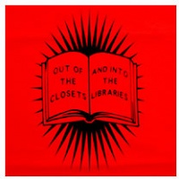 Out of the Closets and into the Libraries T-shirt - Vocat, Daryl