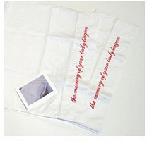 Christine Baigent: The Memory of Your Body Lingers: pillow case set