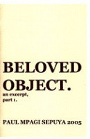 Beloved Object. an excerpt, part 1.